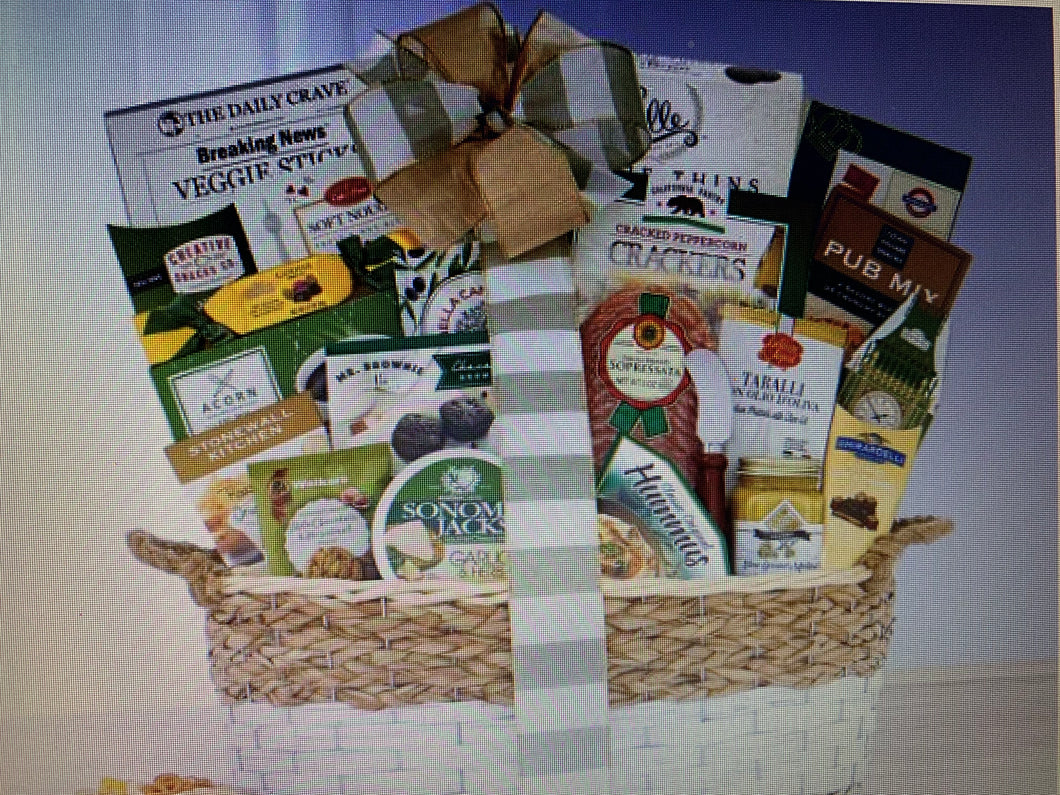 My Condolences Gift Basket