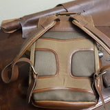Everywhere Laptop Backpack Tan Back view