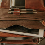 Leather Tablet Organizer Tablet Pocket