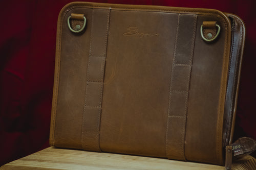 Leather Tablet Organizer - Seconds Discount (2 issues)