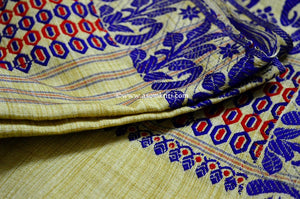 How to differentiate between Authentic and Fake handloom and handcrafted Mekhela chadar or Sarees