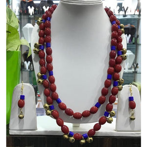 Multi-colored tribal Naga Necklace made of premium beads