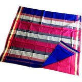 Popular three patti Maheshwari handwoven saree (Click picture to see for more colors)