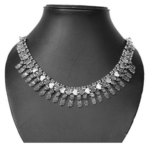 Elegant German silver choker to be a party ready