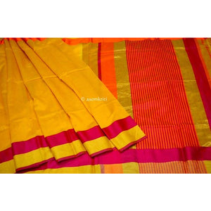 Gorgeous cotton silk Maheshwari Saree perfect for a party wear