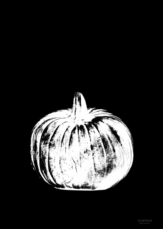Pumpkin - Black Graphic
