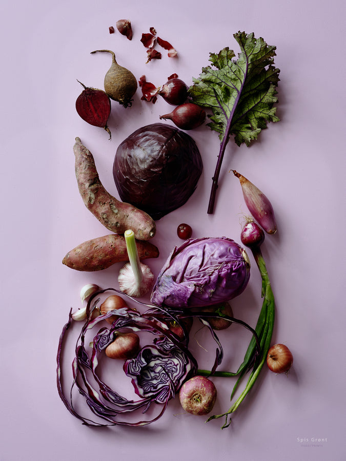 Eat Green/Purple