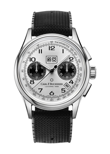 Carl F. Bucherer Heritage BiCompax Annual Stainless Steel 41mm Dial - The Luxury Well