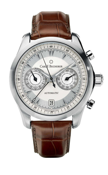 Carl F. Bucherer Manero CentralChrono Steel 42.5mm Dial - The Luxury Well
