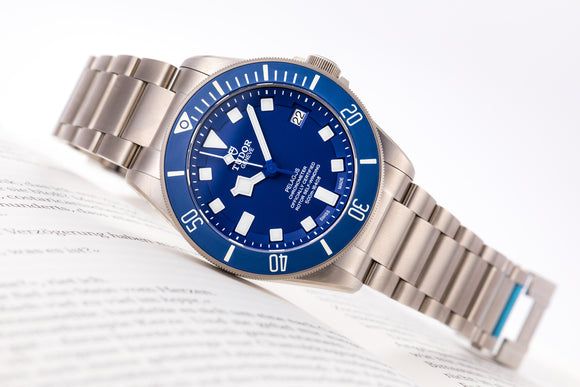 Tudor Pelagos - Titanium Blue 25600TB (Special) - The Luxury Well