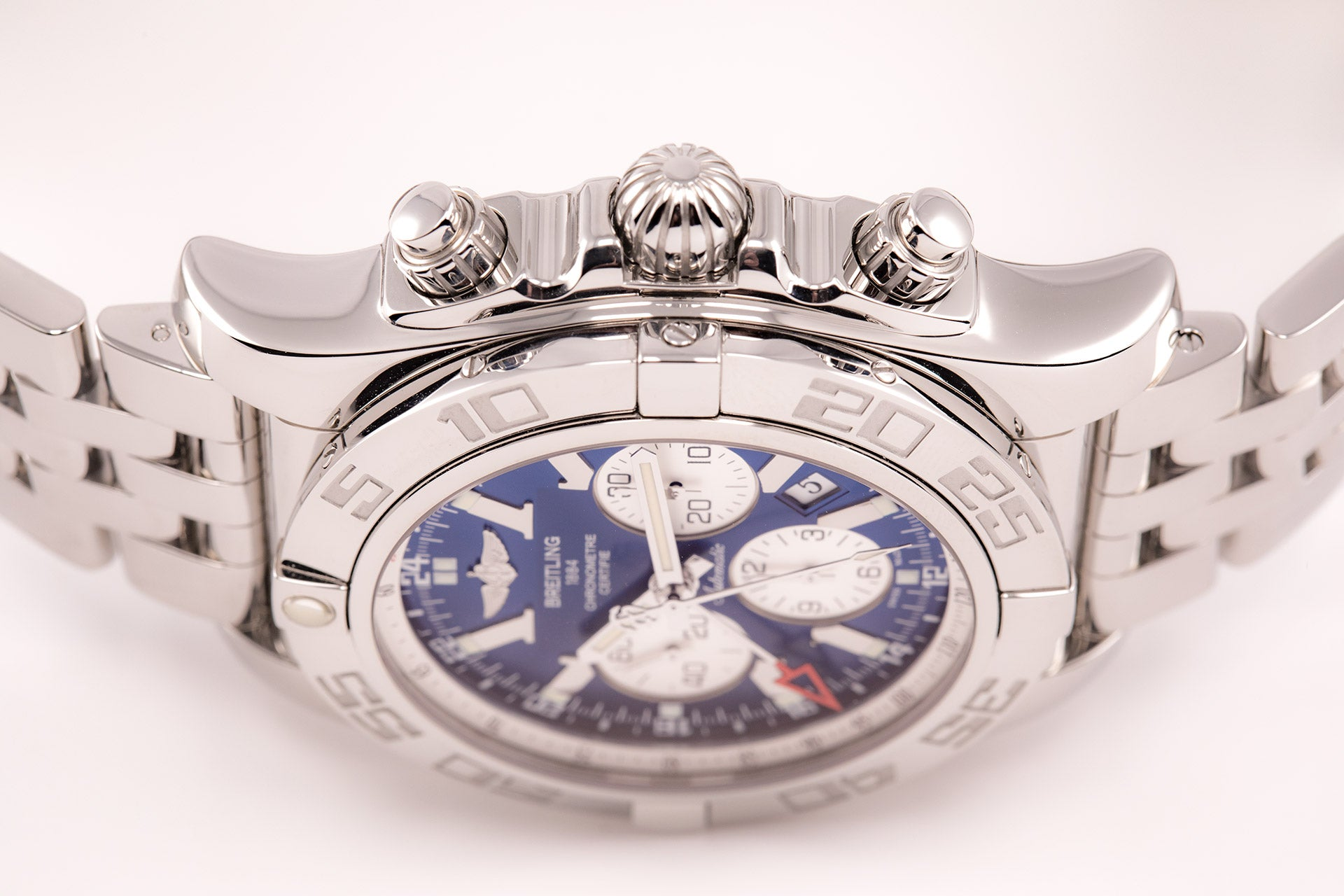 Breitling Chronomat GMT Blue Dial Automatic In-House 47 Large Size