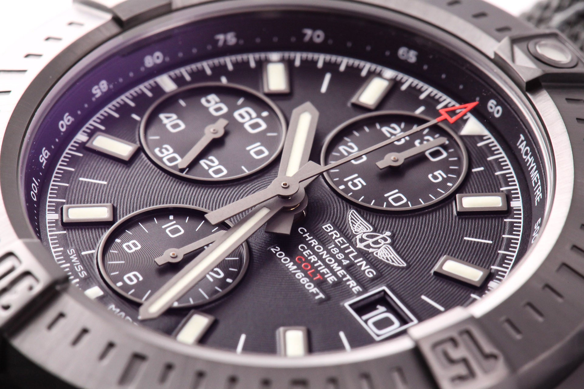 Breitling Colt Chronograph Automatic Blacksteel Ocean Racer II