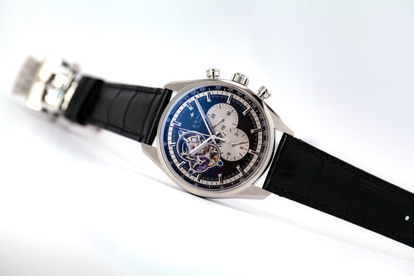 Zenith El Primero Chronomaster 1969 Boutique Edition Black - The Luxury Well