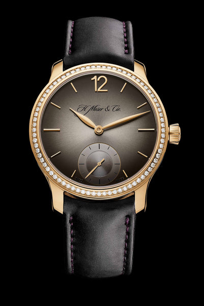 H.Moser & Cie. Endeavour Small Seconds Diamonds Fumé Dial - The Luxury Well