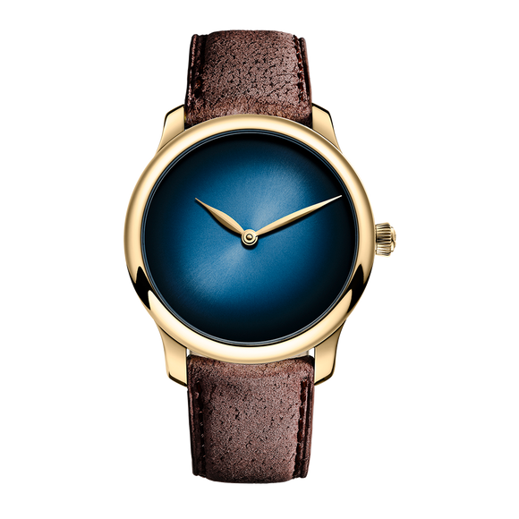 H.Moser & Cie. Endeavour Small Seconds Ladies Red Gold Limited Edition - The Luxury Well