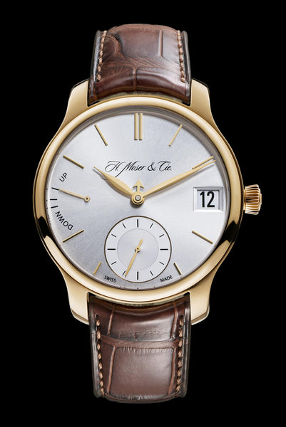 H.Moser & Cie. Endeavour Perpetual Calendar Rose Gold, Argenté Dial - The Luxury Well