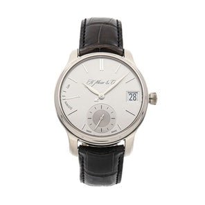H.Moser & Cie. Endeavour Perpetual Calendar White Gold - The Luxury Well