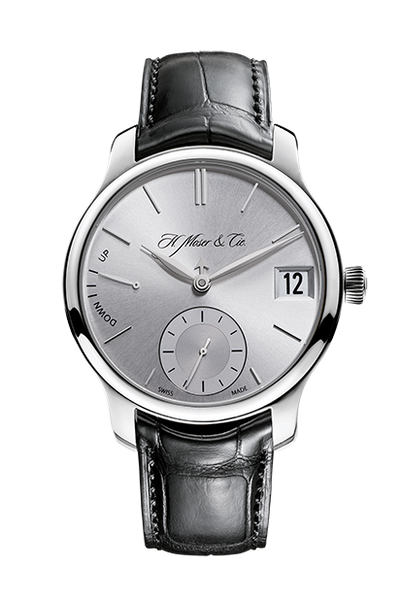 H.Moser & Cie. Endeavour Perpetual Calendar, White Gold, Argenté Dial - The Luxury Well