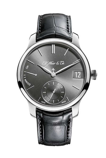 H.Moser & Cie. Endeavour Perpetual Calendar, Platinum, Ardoise Dial - The Luxury Well