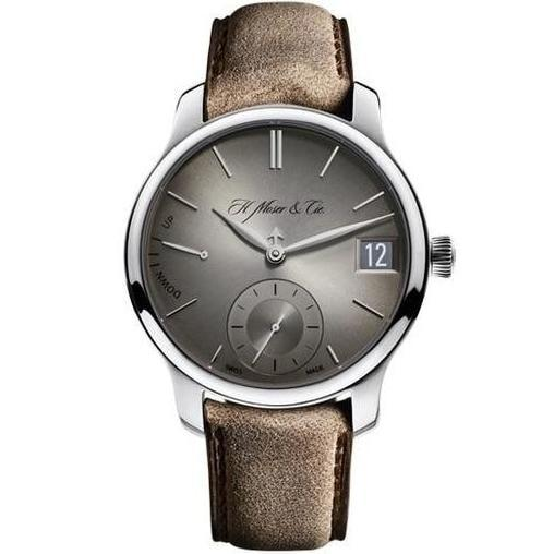 H.Moser & Cie. Endeavour Perpetual Calendar Stainless Steel 40.8mm - The Luxury Well