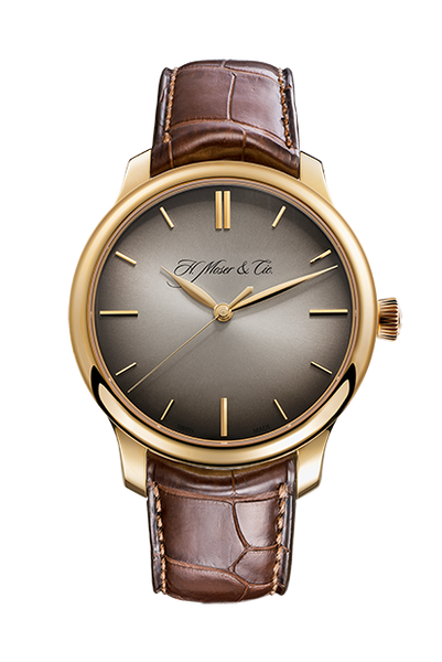 H.Moser & Cie. Endeavour Centre Seconds, Rose Gold, Fumé Dial - The Luxury Well