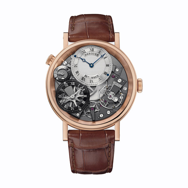 Breguet Tradition GMT Manual Wind Rose Gold - The Luxury Well