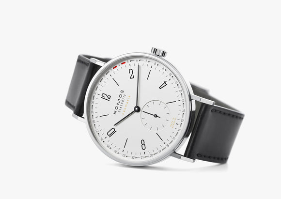NOMOS Tangente Neomatik 41 Update Display Back White Ref. 180 - The Luxury Well