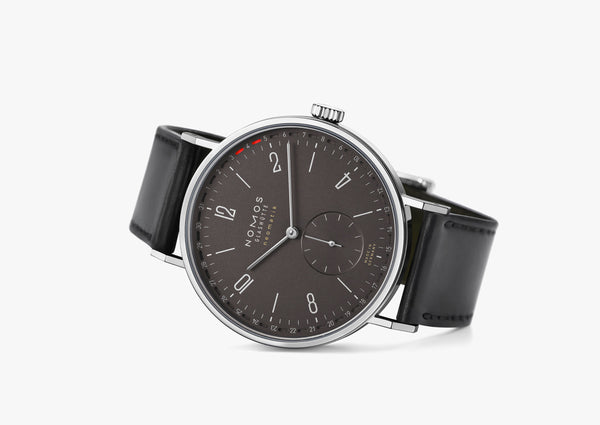 NOMOS Tangente Neomatik 41 Update Display Back Dark Grey Ref. 181 - The Luxury Well