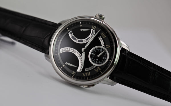 Maurice Lacroix Masterpiece Jour Retrograde Classic - The Luxury Well