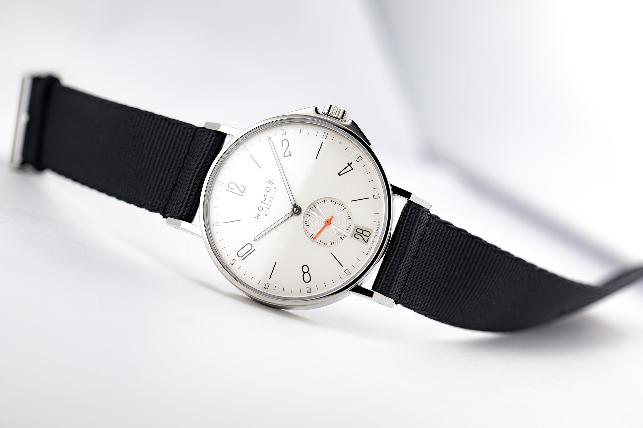 Nomos Ahoi Date, Stainless Automatic, 40.3mm