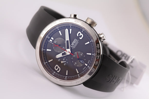 Oris TT1 Chronograph Black - The Luxury Well