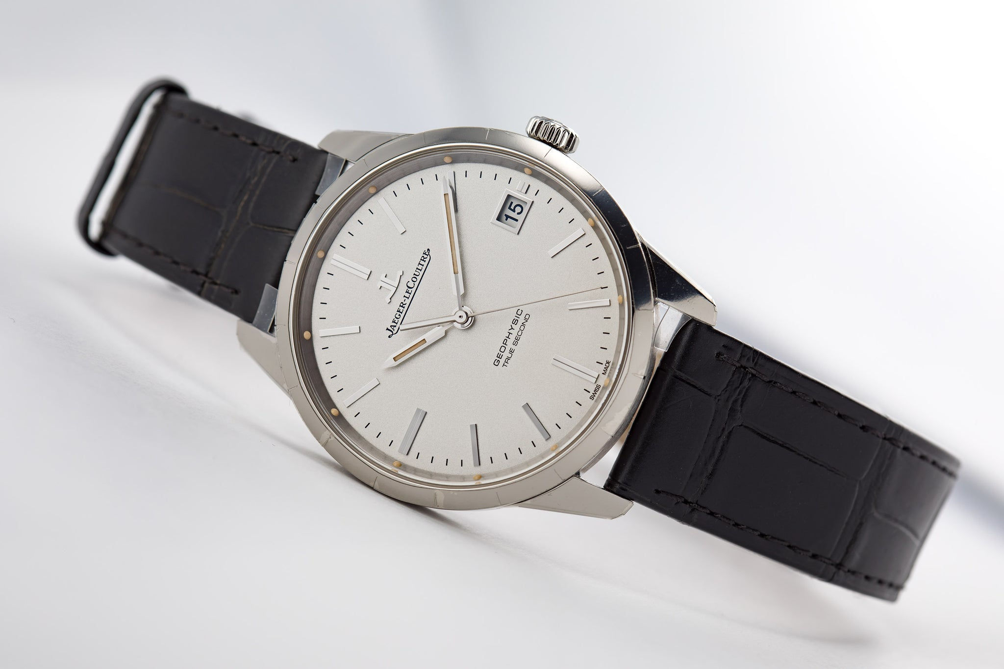 Jaeger-LeCoultre Geophysic True Second Steel Silver