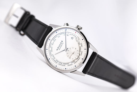 NOMOS Zürich World Time Silver (Winter Special) - The Luxury Well