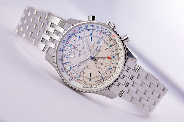 Breitling Navitimer 1 Chronograph GMT 46 - The Luxury Well