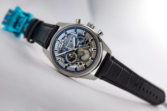 Zenith El Primero Chronomaster Full Open 45 Chronograph Automatic - The Luxury Well