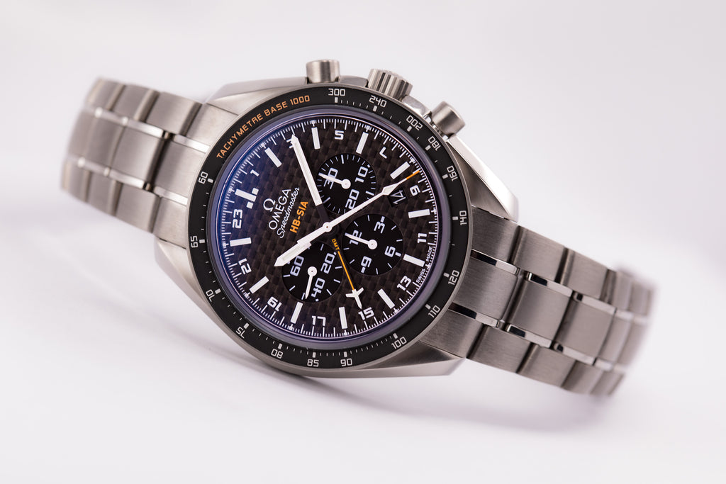 Omega Speedmaster HB-SIA CO-AXIAL GMT CHRONOGRAPH NUMBERED EDITION