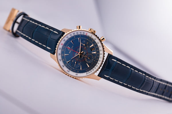 Navitimer Montbrillant 18kt Limited Edition - The Luxury Well