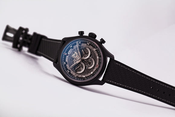 Zenith Chronomaster El Primero Skeleton 45 Black Ceramic - The Luxury Well