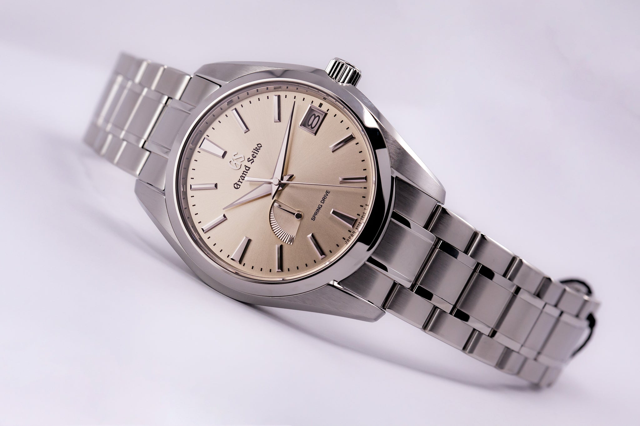 Grand Seiko Spring Drive Champagne Dial (New Model)