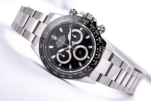 Rolex Cosmograph Daytona Ceramic Black - The Luxury Well