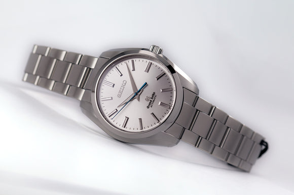 Grand Seiko Automatic Silver Sunburst Dial, Larger Case - The Luxury Well
