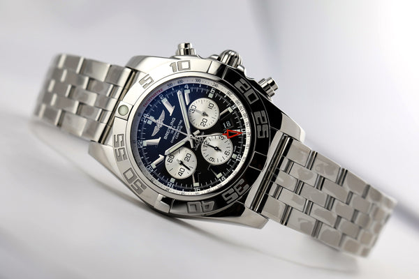 Breitling Chronomat 47 GMT Chronograph Black - The Luxury Well
