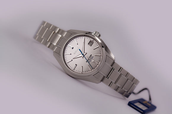 Grand Seiko Automatic Hi Beat Silver Sunburst Dial SBGH001 - The Luxury Well