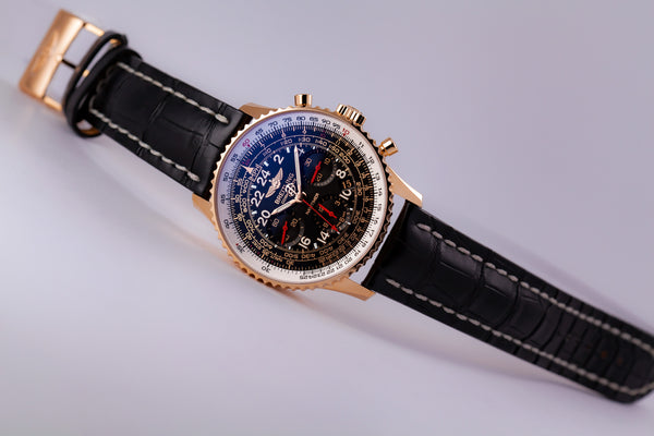 Breitling Navitimer Cosmonaute 18kt Limited Edition (XX/250) - The Luxury Well