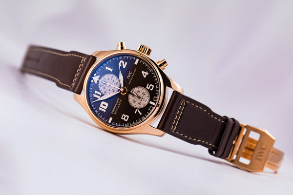 IWC Pilot Chronograph 18kt Antoine de Saint Exupery Limited Edition - The Luxury Well