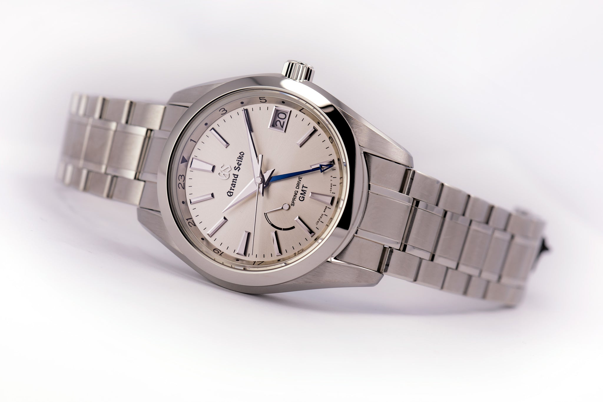 Grand Seiko Spring Drive GMT Champagne Dial (2019 Model)
