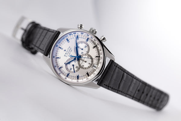 Zenith Chronomaster El Primero 42 Silver Dial - The Luxury Well