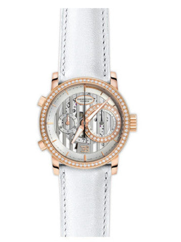 Parmigiani Fleurier Bugatti Atalante Flyback Chronograph 43mm ivory dial - The Luxury Well