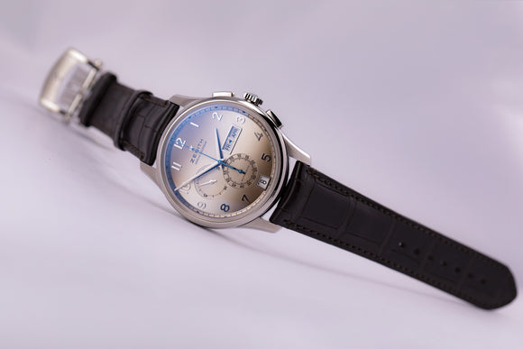 Zenith El Primero Winsor Annual Calendar Chronograph Fume Special - The Luxury Well