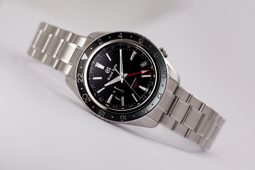 Grand Seiko Spring Drive GMT Black Dial (SBGE201) BLACK FRIDAY SPECIAL